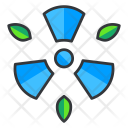 Nuclear radiation Icon