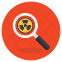 Radiation Search Energy Search Energy Optimization Icon