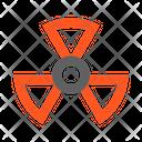 Sign Radiation Icon