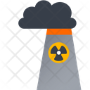Nuclear Station Nuclear Radioactive Icon