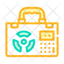 Nuclear Suitcase Color Icon