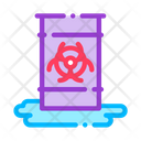 Nuclear Waste Container Icon