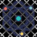 Nucleus Atom Structure Icon