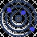 Nucleus Revolving Electrons Revolving Atoms Icon