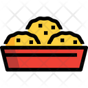 Nugget Biscuit Nugget Bowl Icon