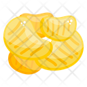 Nuggets Chicken Chunks Fried Chicken Icon
