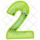 Number 2 Counting Digit Icon
