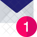 Number One Mail Icon