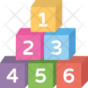 Number Blocks Icon