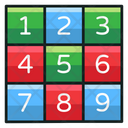 Number Kit Puzzle Game Counting Puzzle Icon