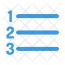 Number List Icon