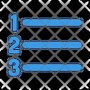 Number List Number Format Format List Numbered Icon