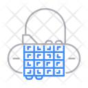 Lock Number Security Icon