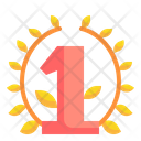 Number One First Place Winner Icon
