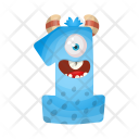 Number One Monster Icon