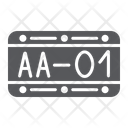 Car Number Automobile Icon
