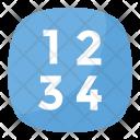 Input Numbers Symbol Icon