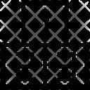 Numbers Mathematics Block Icon