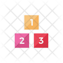 Numbers Block Kids Icon