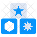 Numeric Blocks Icon