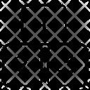 Numeric Blocks Icon