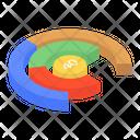 Numeric Chart Mathematics Chart Circle Chart Icon