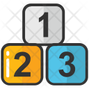 123 Maths Counting Icon