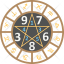 Numerology Astrology Icon