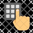 Numpad Pin Pad Icon