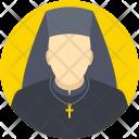 Nun Christian Mother Icon