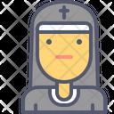 Nun Sister Priestess Icon
