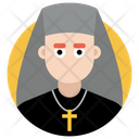 Nun Sister Christian Nanny Icon