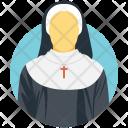 Nun Sister Church Icon