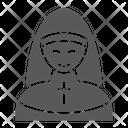 Nun Religion Pray Icon