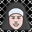 Nun Prioress Nanny Icon