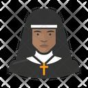 Nun Catholic Clergy Icon
