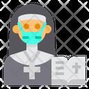 Nun Bible Occupation Icon