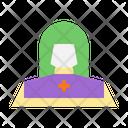 Nun Sister Christian Icon