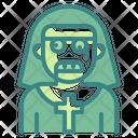 Nun Character Costume Icon