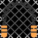 Nunchaku Martial Arts Icon