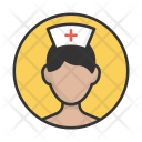 Nurse Hospital Woman Icon
