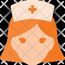 Nurse Medical People Icon