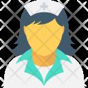 Lady Doctor Nurse Icon