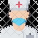 Nurse Male Health Care Icon