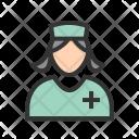 Nurse Avatar Profession Icon