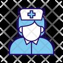 Nurse Woman Doctor Icon