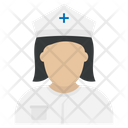 Woman Female Nurse Icon