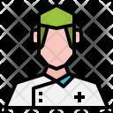 Nurse Male Mustache Icon