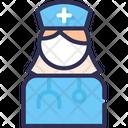 Nurse Physician Doctor Icon
