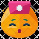 Nurse Emoji Face Icon